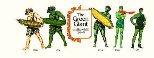 The Green Giant™ and how he's grown
